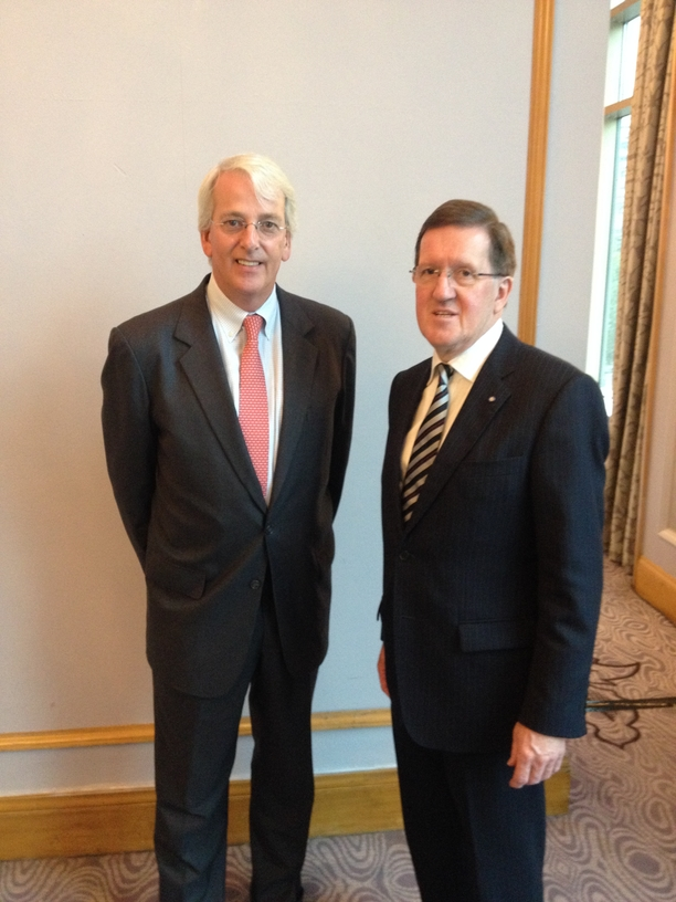 Amb. Ivo Daalder and Lord Robertson, Former NATO Secretary-General